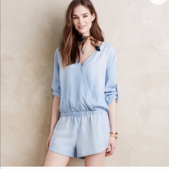 6a8d989657ad cloth & stone Dresses   Anthropologie Cloth And Stone Chambray ...